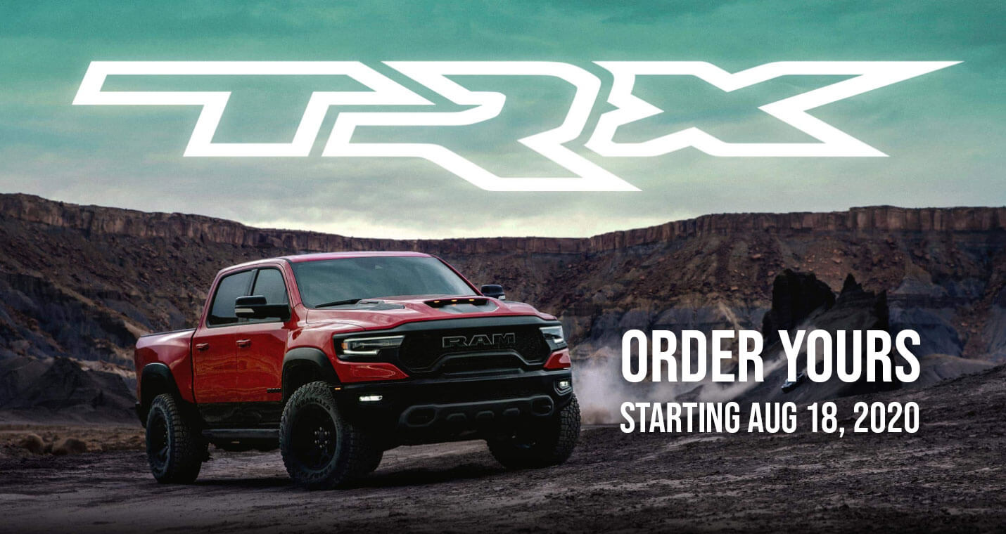 Order your 2021 Ram TRX starting Aug 2020